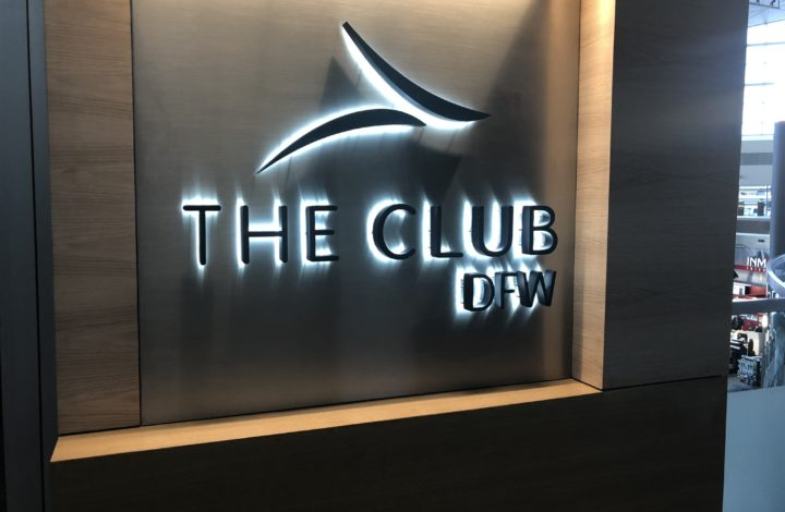 The Club DFW Lounge